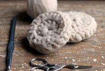Nos tricots écolos / Les idées de réalisation à base de fil et de laine écologique.