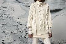 Tricot et haute couture / Le tricot se retrouve aussi dans la haute couture et dans les défilés de mode.