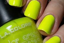 Nail It To The Wall, LA Colors / All about nail polish colors and nail care :)
