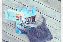 Tricoter, crocheter et bronzer / L'avantage du tricot l'été c'est que l'on peut tricoter et bronzer par la même occasion ! Photo de la communauté Phildar