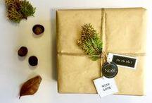 Les beaux emballages de Noël / Idées d'emballage pour vos cadeaux de Noël.