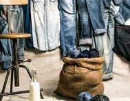 Denim Mania / Le Denim est très tendance cette saison. On adore ses différentes teintes de bleus et la texture du jean. On en met dans tout ses looks pour un style assumé !