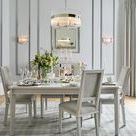 Interiors: Silver Silhouette / Inspired by the growing popularity of clean, cool colour, our Silver Silhouette story is a carefully curated collection of steels and chromes. Thick knits and frosted glass add a sense of texture, whilst detail comes in the form of patterns drawn from flora and fauna, and statement silhouettes like our beaded pineapple.