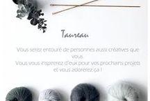 Horoscope de Tricoteur / Enfin un horoscope dédié aux tricoteurs