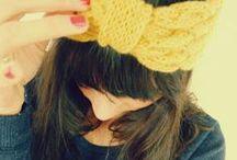 Headband / Inspiration de Headband tricotés