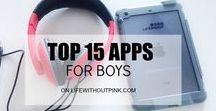 For the Boys. / The best products, ideas, activities and more for boys.