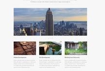 blog themes / themes for blogging platforms: wordpress, tumblr, squarespace