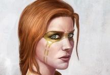 Fantasy et SF:  personnages, créatures, vêtements