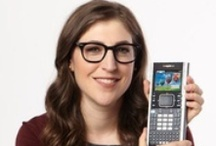 Mayim Bialik for TI-Nspire™ Technology  / Emmy-nominated actress and scientist Mayim Bialik is the spokeswoman and brand ambassador for TI-Nspire™ math and science technology! / by Texas Instruments Education Technology