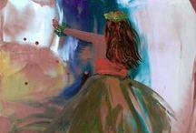 Marionette's Encaustics / This board features my original encaustic art (painting with wax).  Aloha!  www.kauai-artistnet