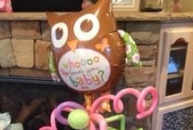 Owl Baby Shower / Only the four of us can see this for Rachel's shower