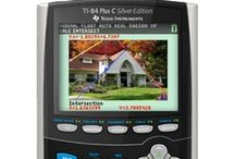 Calculated with Color / The TI-84 Plus C Silver Edition graphing calculator is here. Experience the TI-84 Plus graphing calculator, now enhanced with full-color capabilities. / by Texas Instruments Education Technology