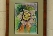 Passion Flowers / This board features the exotic Passion Flower.  It is the flower that gives us the very tasty lilikoi fruit!  www.kauai-artist.net