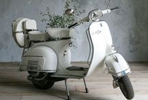 WHEELS / Anything on wheels that appeals to me ~ I've always wanted a Vespa - I used to talk about it when I was in high school how I was going to be a nurse and ride to work on my Vespa Scooter - a white one, too!  Now I love a Harley, but a Vespa is just ME!...  / by Jolene aka Willow Goodwitch Price-Duff