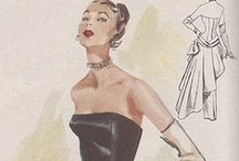 vintage fashion / by Cindy Bassett