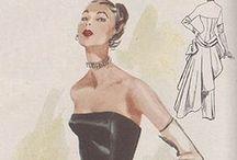 vintage fashion / by Cindy Bassett