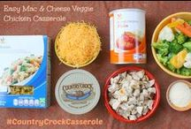 Casserole Club Creations - Easy & Cheesy  / by Country Crock