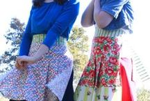 comes with strings attached (usually) / aprons, bibbies and pinafores / by Cindy Bassett
