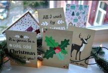 Kerstkaarten / Inspiratie om kerstkaarten te maken & foto's voor op je kerstkaart. / by Christmaholic.nl - kerst