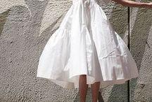 White Fashion Inspiration / All white