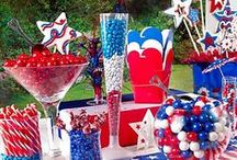 4th of July Ideas. / Fun 4th of July party, food and activities!