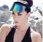 UV Paparazzi Visors™ / The only sun visor that offers adjustable 99% UV protection and 50+ UPF  by SAINT CHIC