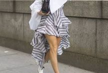 Fashion Week Looks / looks I am loving for street and front row inspiration.