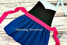 Princess Pretend Play Aprons / Pretend Play Aprons by Charming Necessities www.charmingnecessities.com