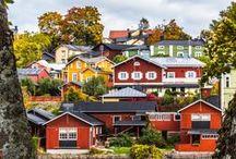 Kotimaan lomakohteita/Interesting places in Finland
