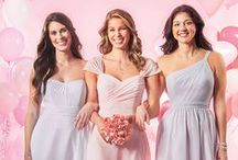 #MaidtoLove Bridesmaids / Your bridal party will ♥ the extraordinary savings and style found in our #MaidToLove collection of six must-have chiffon dresses available in both short ($99 MSRP) and long ($129 MSRP). The price is right and each feminine and fun gown is available in 62 Dream in Color shades. / by Alfred Angelo Bridal