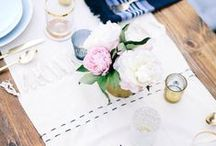 ENTERTAINING / Ideas and Inspiration for Entertaining: Locations,Tips, Tablescapes, Florals, Plates Servingware, Silverware