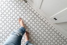 FLOORING / Ideas and Inspiration for Flooring: Wood, Tile, Concrete, Carpeting, and Rugs.