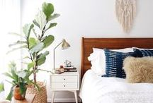 BEDROOMS / Ideas and Inspiration for the Bedroom: Beds, Bedding, Pillows, Duvets, Headboards, Dressers, Night Tables, Lighting, and Decor