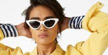 Trending now / The next big thing, but now. From Gen Z yellow to flares to preppy 'n' pastels, this is your go-to board for the trends that thrill us atm. 2018 summer fashion trends sorted.