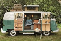 Campers / Campers, Camper Vans, Trailers, and camping accessories (Airstreams, vintage campers, camper interiors and the like) / by Christina M Simmons