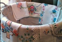 vintage linens / by Jessamyn Sommers