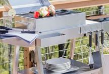 Kenyon Grills / We've created a line of electric grills that has TRANSFORMED traditional grilling.  Don't let anyone fool you, grilling season never ends when you cook with Kenyon!