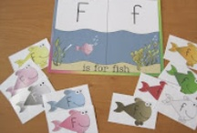 Letter Ff is for Flower, and... / Printable pages and activity inspiration for learning the letter F.