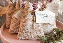 Wedding Party Favors / Fun and easy ways to make sure your guests don't leave empty handed!