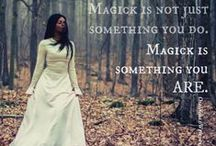 The Witch / Reclaim your inner witch. All of us women, we are witches. So it is.