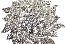 Diamanté Brooches