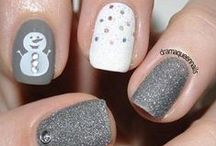 Christmas Holiday Nail Art / Lots of festive and fun nail art ideas for the Christmas holidays... / by Jackie Bray
