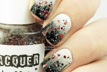 Nail Art: Rhinestones, Pearls, Studs n Bows & Glitter / Great ideas for Nail Designs! You'll definitely want to get a good pair of tweezers, or there are tools with a little tack on the end for applying to the nail.  Mani, Manicure
