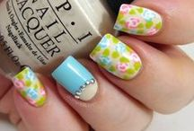 Nail Art: Florals & Fruits / A healthy collections of Flower Nail Art and Fruit Nail Designs. If you need some coaching on painting flowers and fruit - check out my Tutorial Board :) Nail Polish, Manicure, Mani, Strawberry, Watermelon, Cherries, Apple, Rose, Daisy
