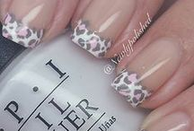Nail Art: Leopard Print, Accent Nails & Marbling / If you need some help creating any of the nail designs on this board - check out my Tutorial Board. You should find what you are looking for.  Nail Polish, Mani, Manicure...