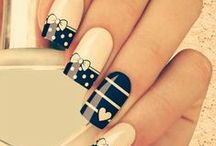 Nail Art: Hearts, Bows, Lace & Scallops / Just as the title says - if you are looking for Heart Manicures, Bow Nail Art, Lace Nail Designs or pretty Scallops; this is the board for you.  Mani, Nail Polish