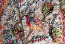needle and knit works,cloth,etc. / 刺繍 キルト かがり縫い ステッチ パッチワーク 編み物 布