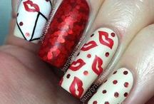 Valentines Day Nail Art / by Jackie Bray