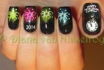 New Years Eve Nail Art / by Jackie Bray