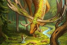 The Horned God / The Lord of the wild greenwood, known by many names. The male side of Deity, the seed that grows and shapes, momentum, reform, innovation, invention, protector of the hearth, Great Spirit of the Earth - Pachapapa.